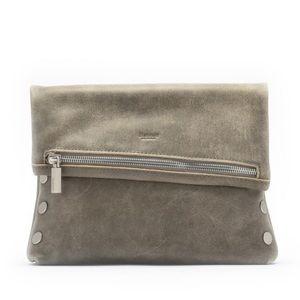 New Hammitt Medium VIP Pewter Leather Crossbody